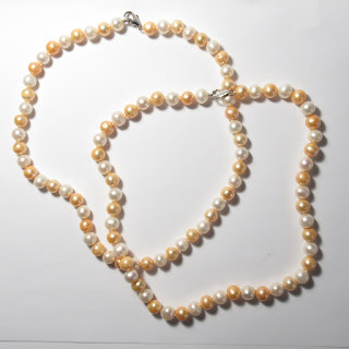 Pearl Necklace Pair
