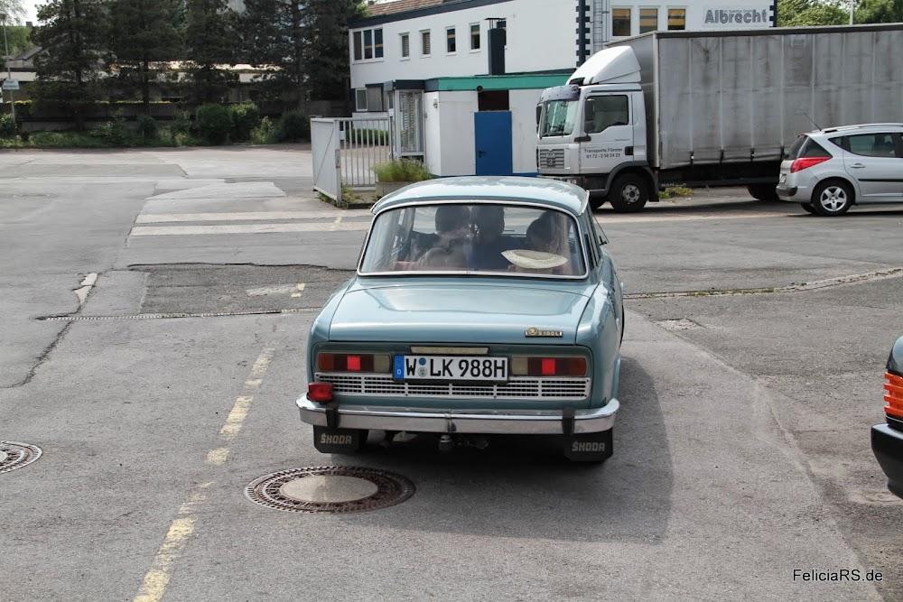 Ein S100 aus Wuppertal, hat mich sehr gefreut einen zweiten alten Škoda zu sehen.