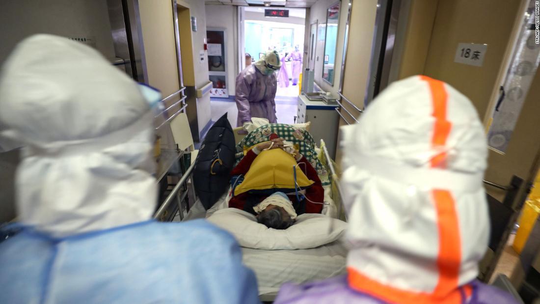 Pasien Dinyatakan Sembuh Corona Meninggal di Wuhan China