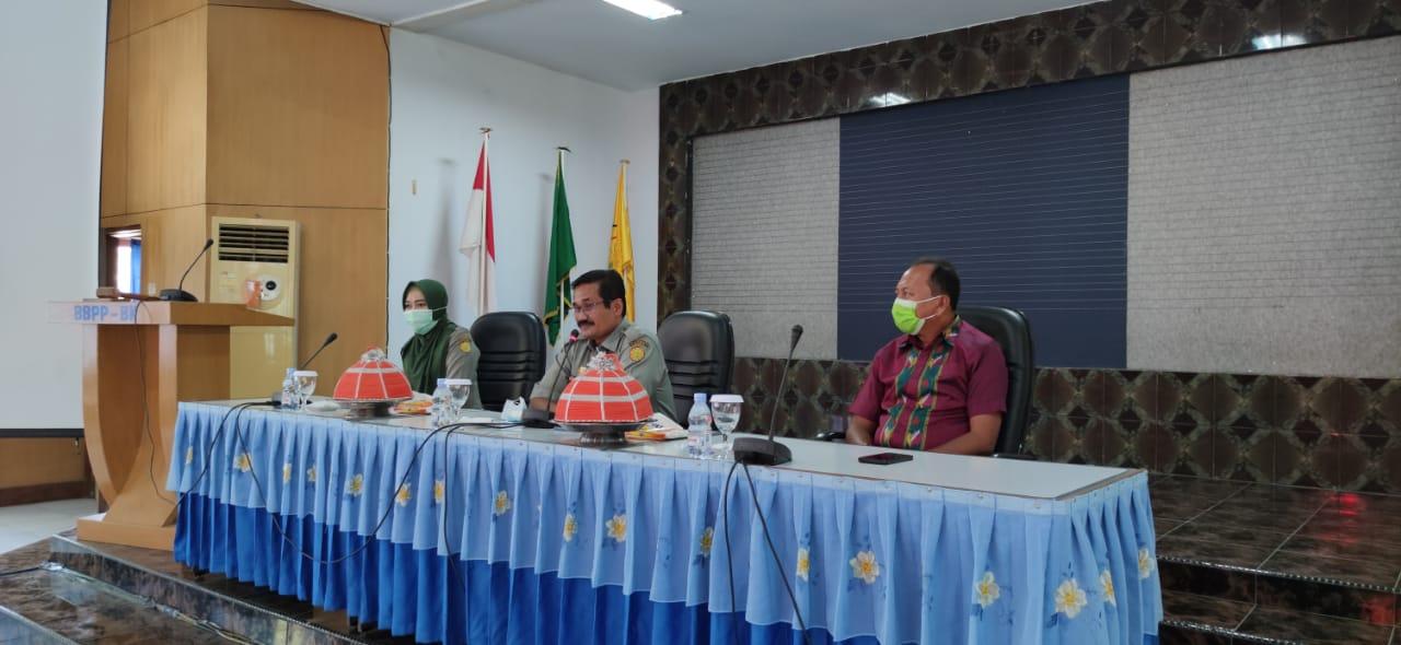 BBPP Batangkaluku Sambut Baik Kunjungan Kerja Dinas Pertanian Kab. Buton