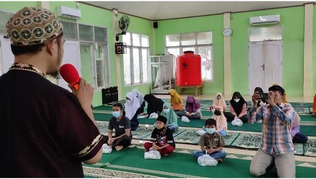 Kerjasama JBB Masjid Al Quwait dengan RGB Sudah Berjalan 25 Pekan, Anak Yatim dan Kaum Dhuafa Tersenyum Manis