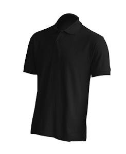 Футболка Поло JHK PORA 210, колір чорний (BK)