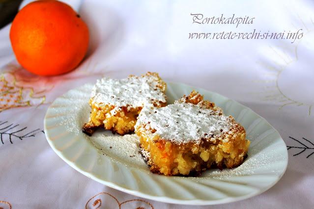 Portokalopita, plăcintă grecească