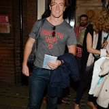 WWW.ENTSIMAGES.COM -   Toby Stephens  leaving     Noël Coward's Private Lives at Gielgud Theatre London August 6th 2013                                             Photo Mobis Photos/OIC 0203 174 1069