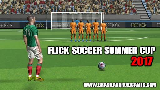 Download Flick Soccer Summer Cup 2017 v1.0 APK Full - Jogos Android