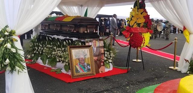 Achidi Achu, Former PM Interred