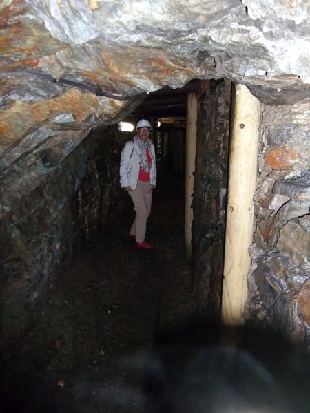 Inside mine