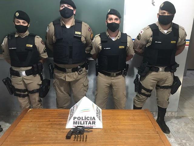 Após denúncia Polícia Militar de Divino apreende mais uma arma de fogo
