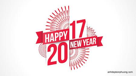 Hình ảnh chữ 2017 chúc tết, ảnh chúc mừng năm mới định dậu