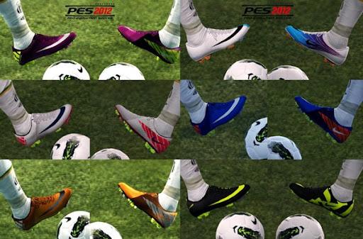 Mercurial PES 2012 DEMO Demo PES 2012: Chuteiras Nike Mercurial