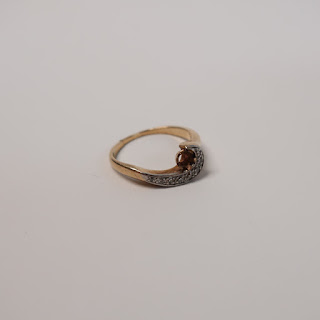 14K Gold and Diamond Ring Setting