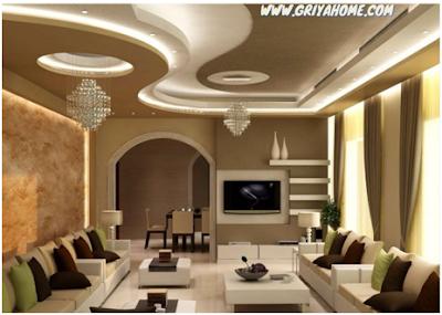 plafon rumah modern