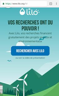 Lilo Browser - náhled