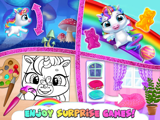 My Baby Unicorn - Cute Rainbow Pet Care & Dress Up 1.0.33 screenshots 16