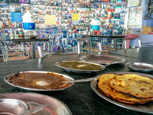 Delicious Punjabi Food at Amritsar