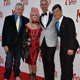 OIC - ENTSIMAGES.COM - Cyndi Lauper, Jerry Mitchell and Stephen Oremus at the  Kinky Boots - press night in London 15th September 2015  Photo Mobis Photos/OIC 0203 174 1069