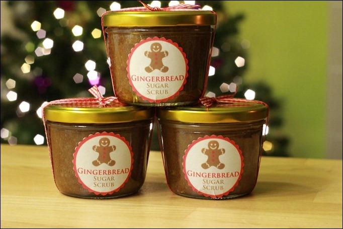 DIY Sugar Scrub Weihnachten Geschenk selbstgemacht 00