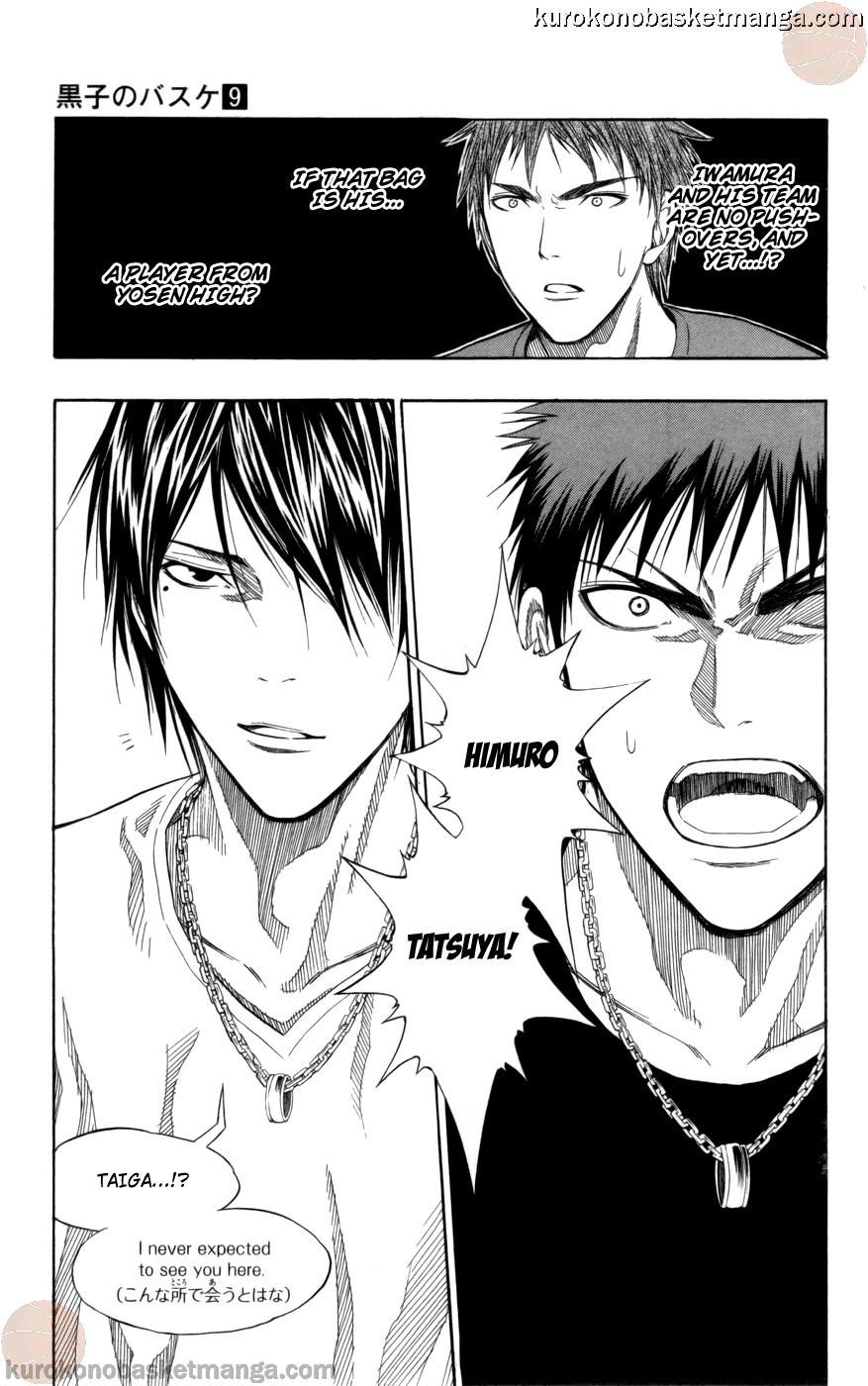 Kuroko no Basket Manga Chapter 75 - Image 19