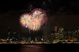 Photo: Ménage à trois San Francisco, CA. 2013.  I'm up, and 2013 is looking really good so far. My third post from last nights fireworks shoot, I am surprised how well last night's shoot went; and I'm giving myself license to post firework shots all day today. Its about the only day that you can go a bit overboard with a single theme.  What was your new years celebration like? -- I'm really curious to see what +roma g+Natalia Stoneand +Michael Bonocoreended up doing after they passed on getting cold, and standing with the throngs of people at Treasure Island.  #sanfrancisco  #fireworks  #newyearseve