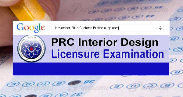 November 2014 Customs Broker Exam Results, List of Passers
