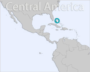 Bahamas location map