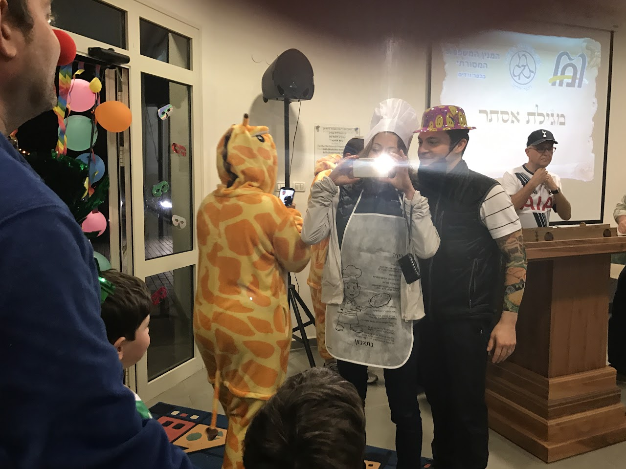 Purim at the Minyan 2017  - IMG_0107.JPG