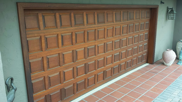 Garage Door Refinishing Del Mar 92014 Sikkens Cetol Peek Brothers Painting