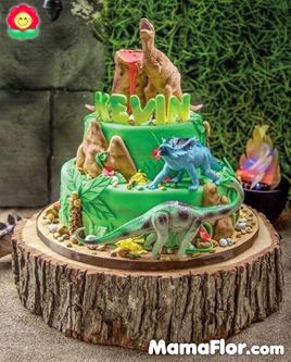pastel de dinosaurios - 06