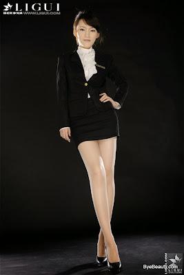 LiGui 20101104 Tina 女秘书的诱人美丝