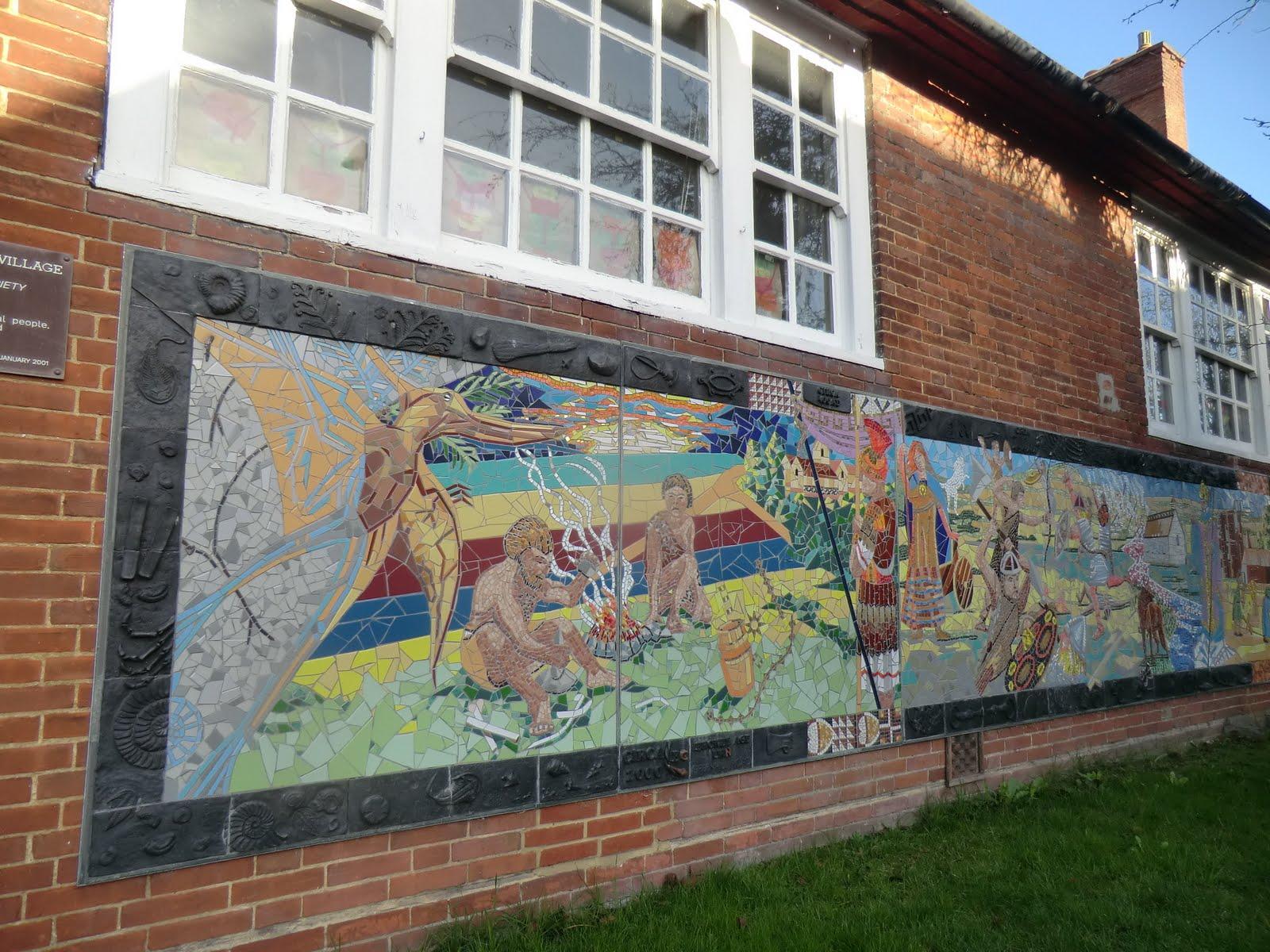 CIMG7989 Millennium mural, Otford