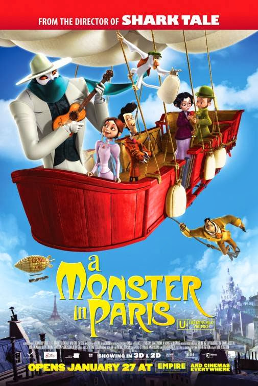 Poster Of A Monster in Paris (2011) Full Movie Hindi Dubbed Free Download Watch Online At Alldownloads4u.Com