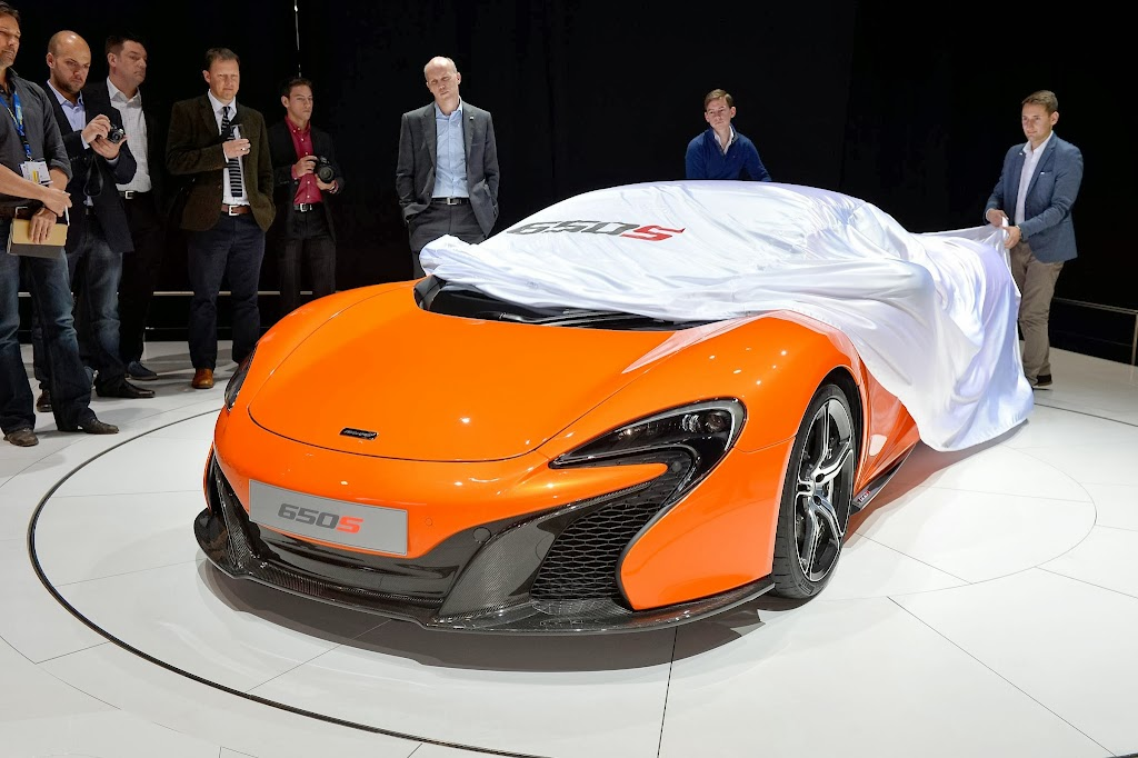 McLaren 650S Spider Geneva Motor Show 17