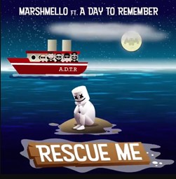 Capa Rescue Me – Marshmello feat. A Day To Remember