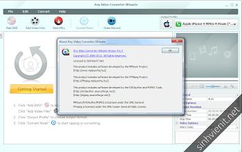 Any Video Converter Ultimate 4.6.0 Full Keygen | Phần mềm đổi đuôi video và đóng hardsub hàng đầu
