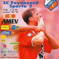 FCU Programmaboekjes 1996-97
