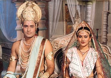 Old TV Serials on doordarshan: Ramayan - TV Serial