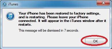 Hình 7 - Hướng dẫn khôi phục, Restore iPhone và iPhone 6 Plus