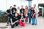 La organización con el Coordinador de Juventud del Ayto. de Plasencia