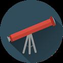 Telescope & Light icon