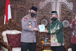 Pengurus Pusat Muhammadiyah Menerima Kunjungan Silarutahmi Kapolri Jenderal Listyo Sigit