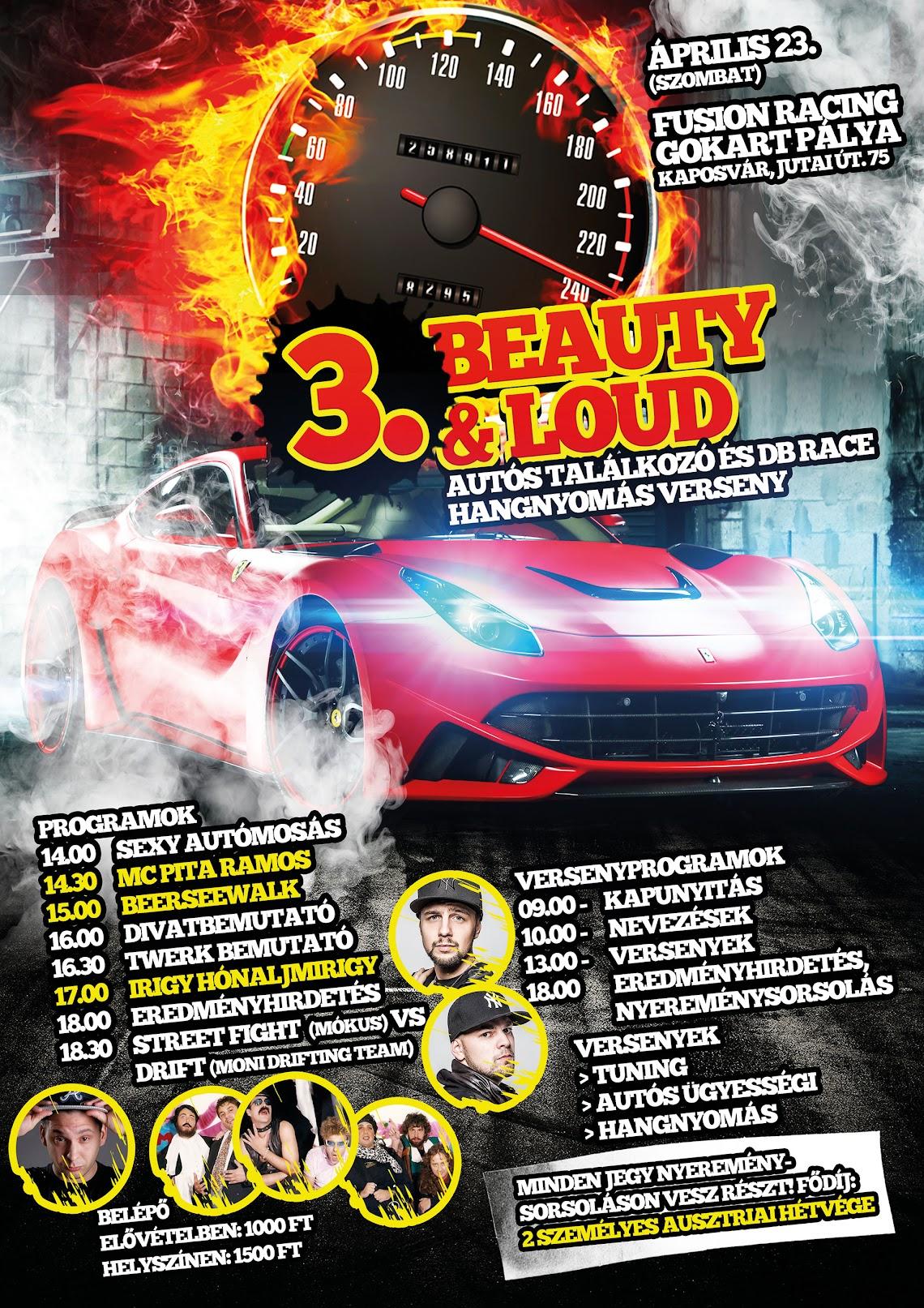 3. Beauty and loud autós találkozó Kaposvár