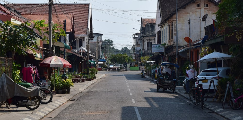 The mean streets of Savannakhet