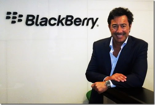 BlackBerry nombra a Antonio Reyes Country Managing Director para España