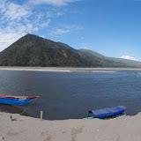 """Confluent des Rios Perene et Ene (à gauche) et Riio Tambo (à droite), près de Puerto Prado (11°09'56""""S - 74°14'07""""0). Photo : Alberto Coronado (Panoramio)"""