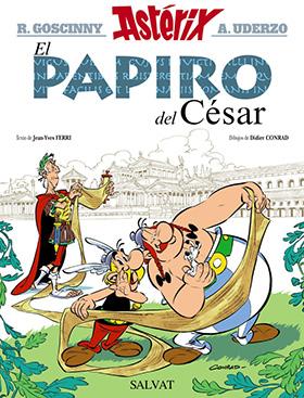 Exposición de Astérix en la biblioteca Eugenio Trías, hasta el 30 de noviembre 2015