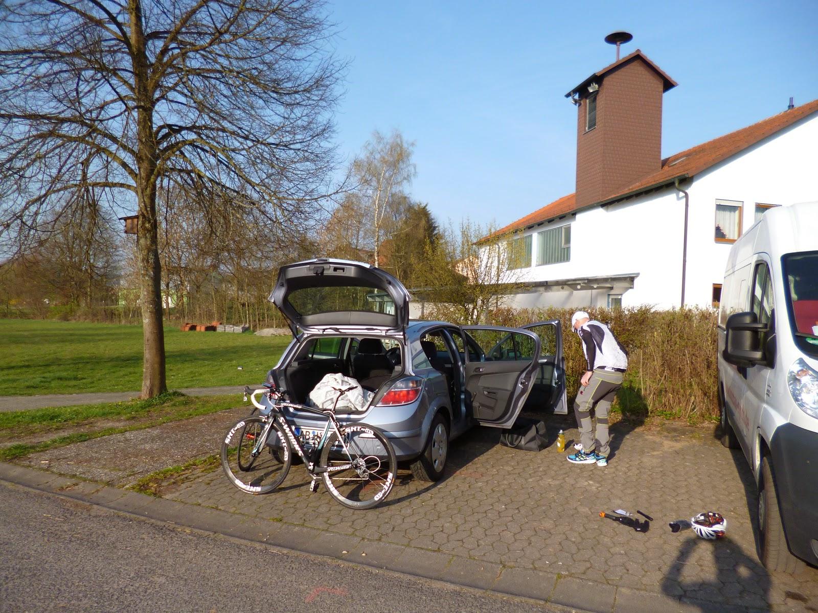 Rennrad Tour in der Rhön am 30.03.14