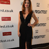 OIC - ENTSIMAGES.COM - Minnie Phipps attends Britain's premier horror and fantasy film festival. Cherry Tree opens this year's festival while Tales of Halloween closes it at the View West End in London on the 27th August 2015. Photo Mobis Photos/OIC 0203 174 1069