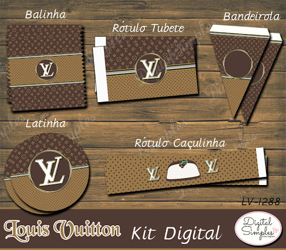 Kit Digital Louis Vuitton  .....artesdigitalsimples@gmail.com