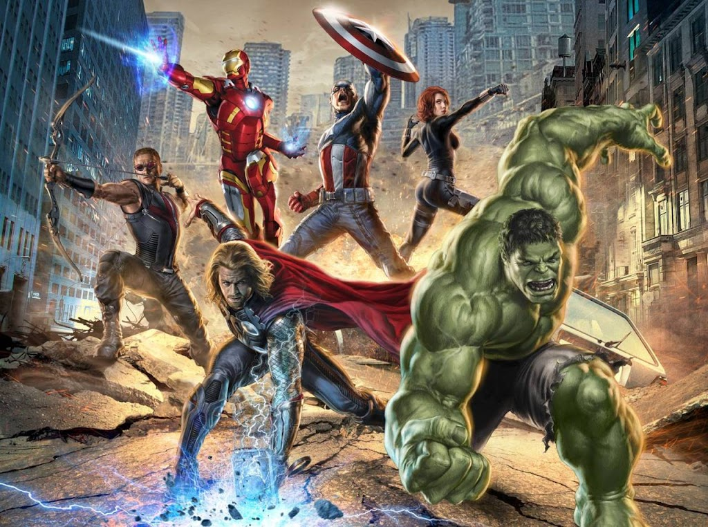 Promo picture for 'The Avengers' movie