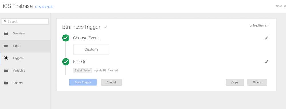 Using Firebase Analytics and Google Analytics together - iOS